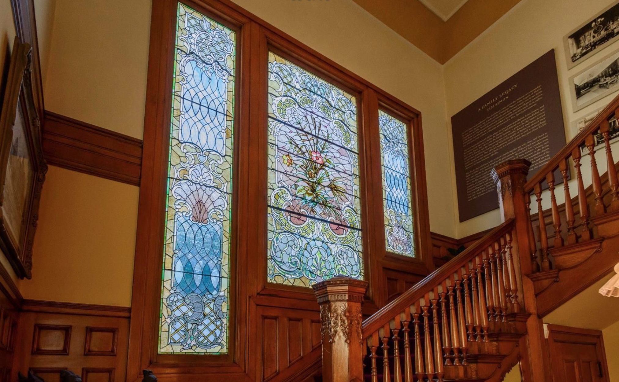 1701 Frankin Street - Victorian Stained Glass