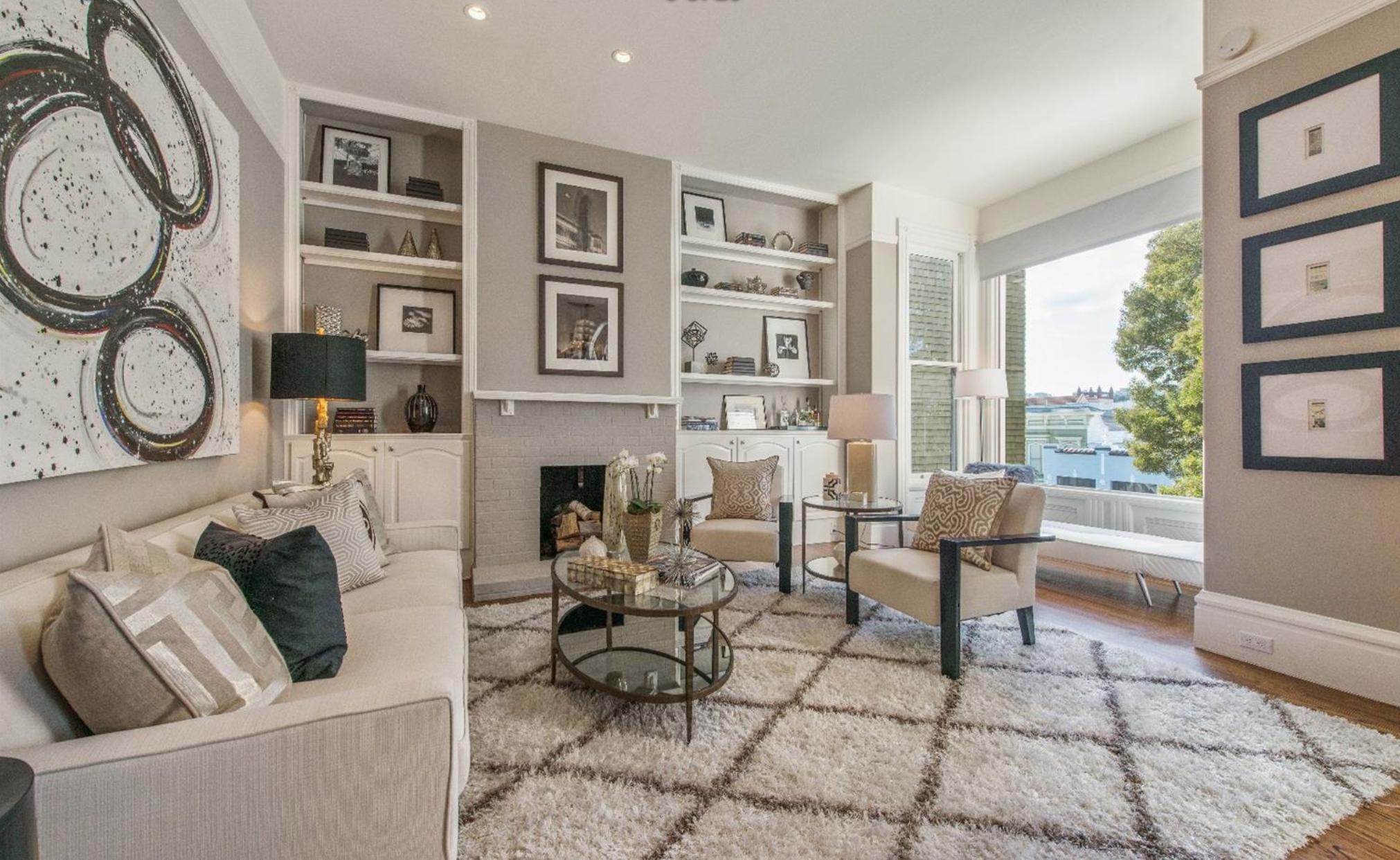 2046 Divisadero St - Living Room