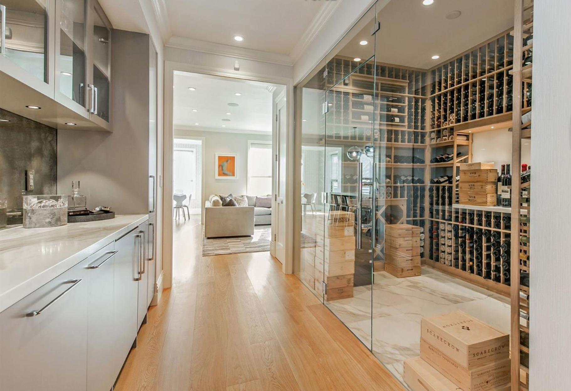 3323 Clay St - Wine Room