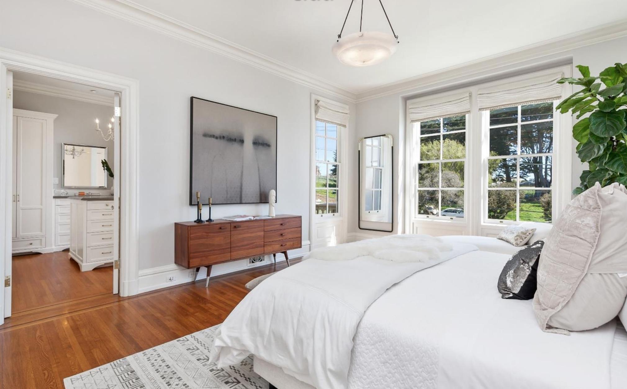 2219 Scott Street - Master Bedroom