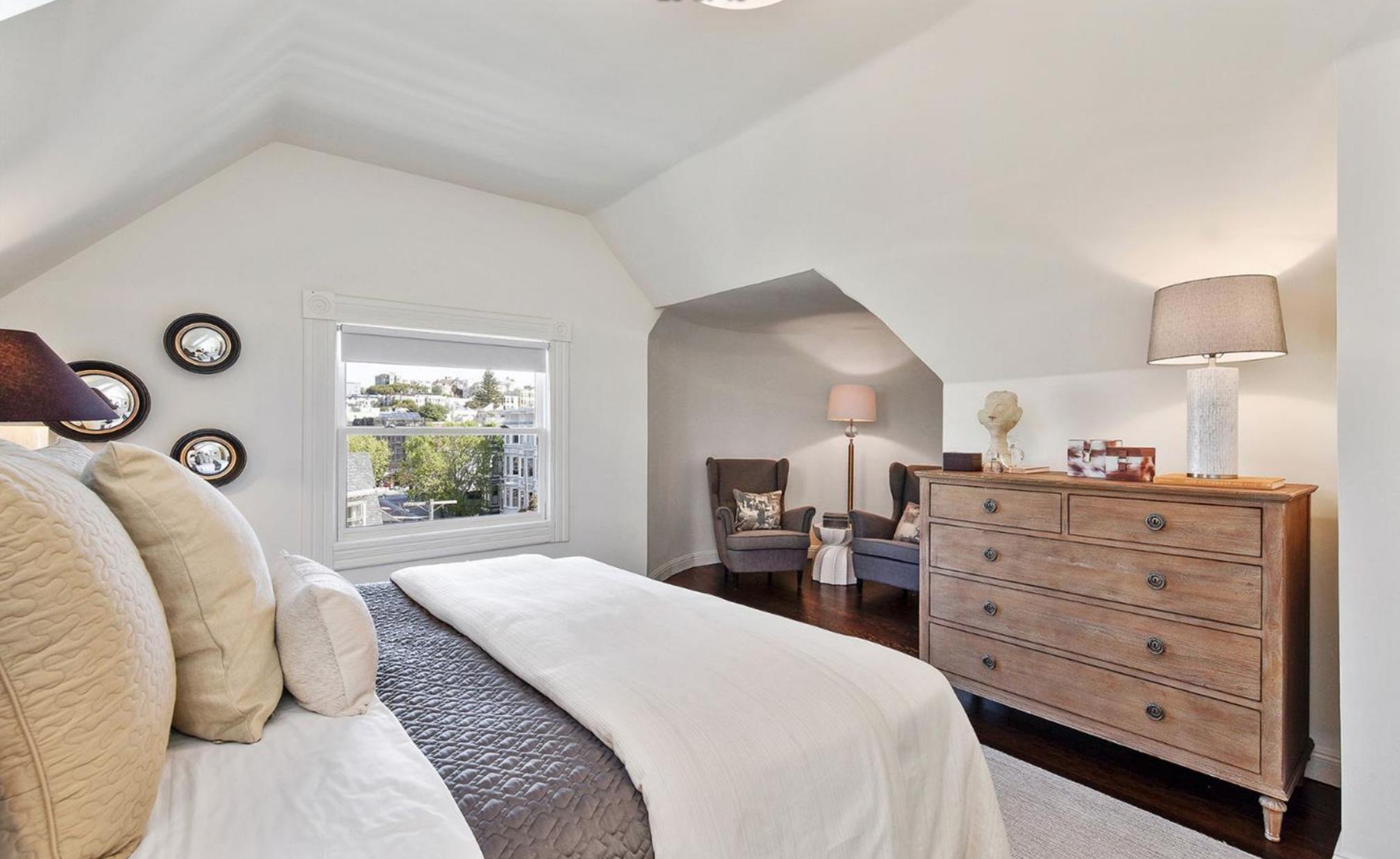 605 Waller Street - Bedroom