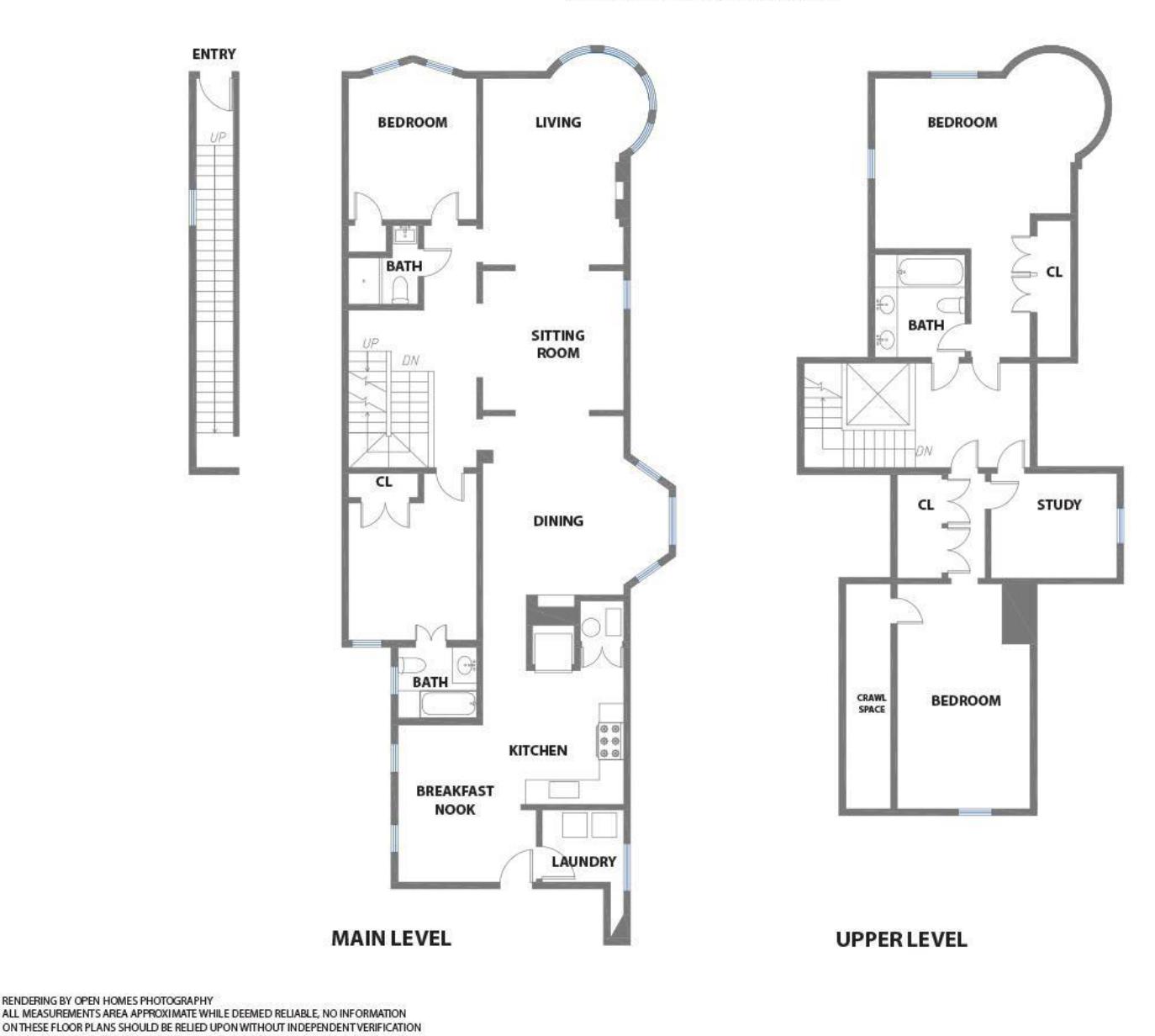 605 Waller Street - Floor Plan