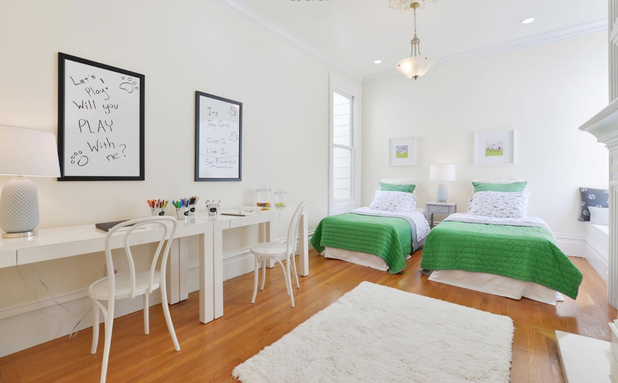 211 Divisadero Street - Kids Bedroom