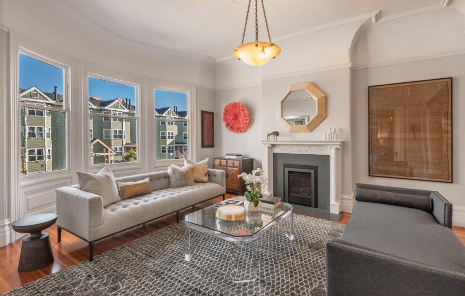 925 Fulton Street - Living Room