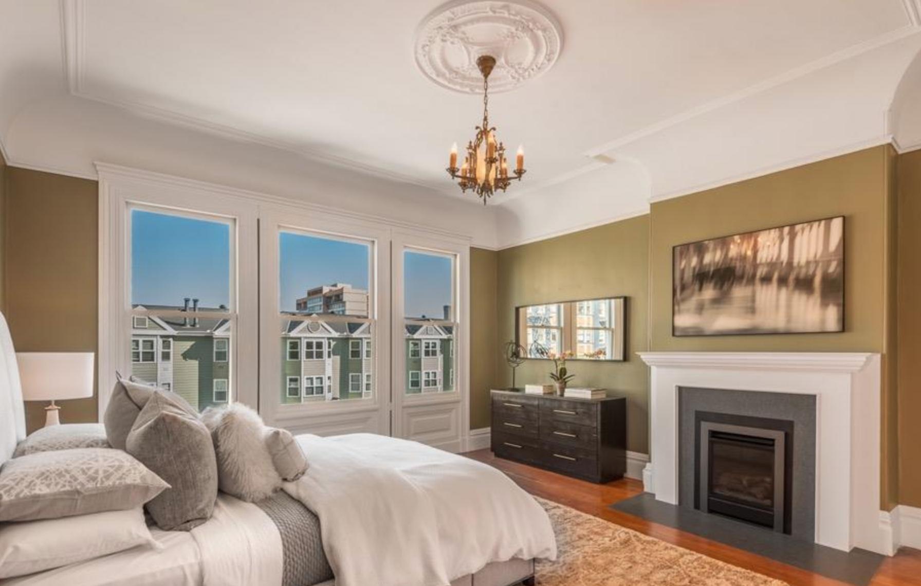 925 Fulton Street - Guest Bedroom
