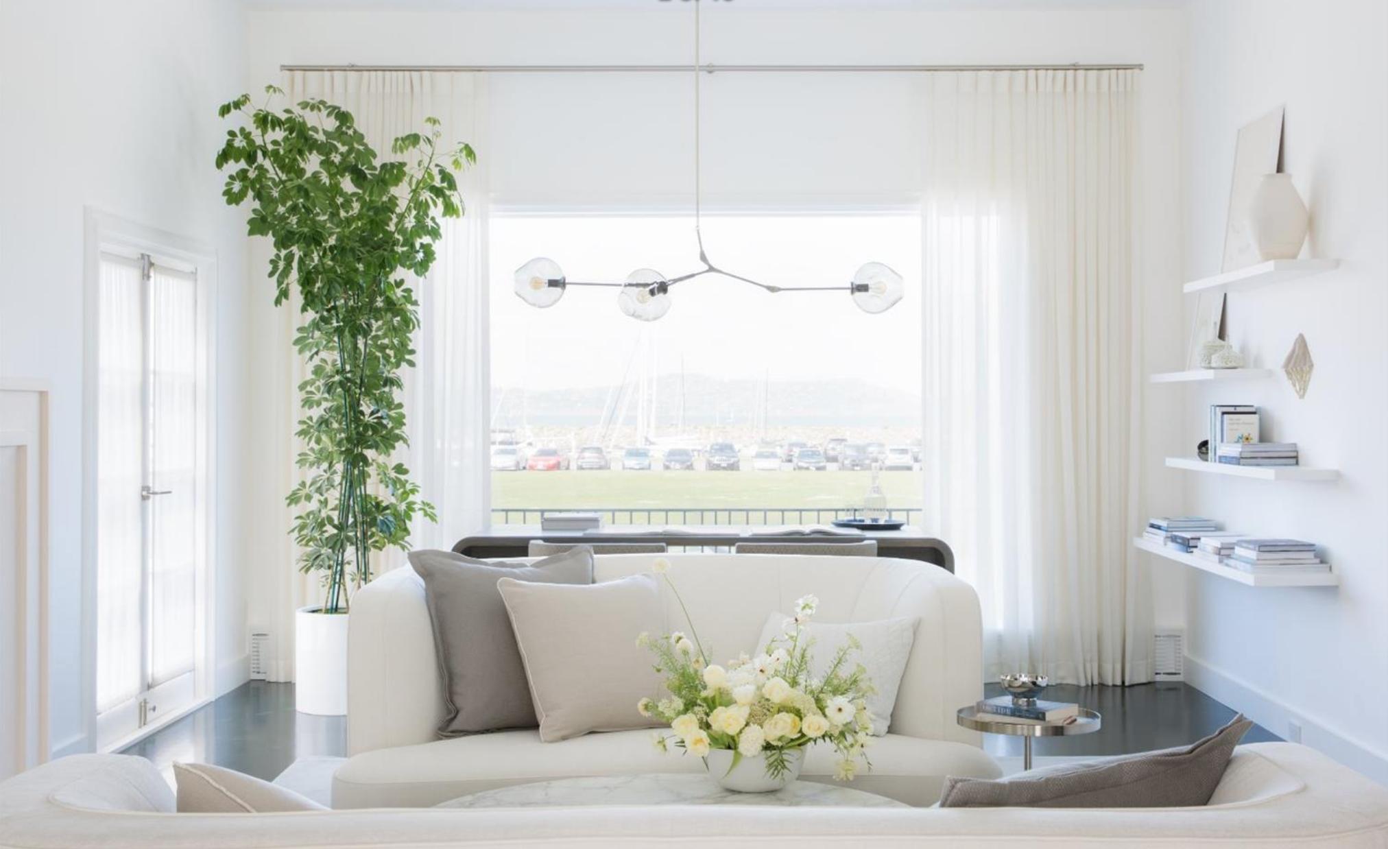 465 Marina Blvd - Living Room