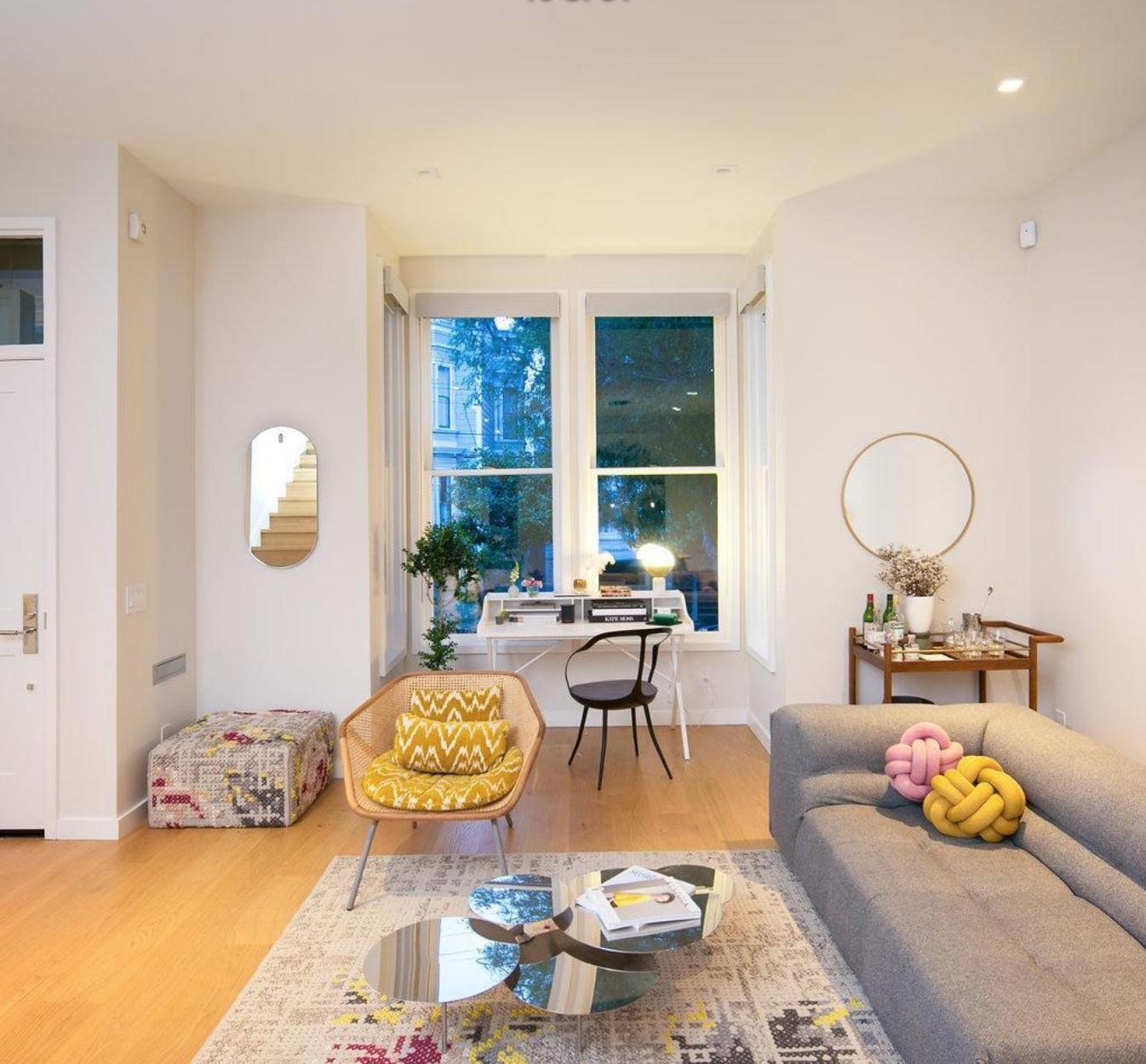 1825 Scott Street - Living/Dining room