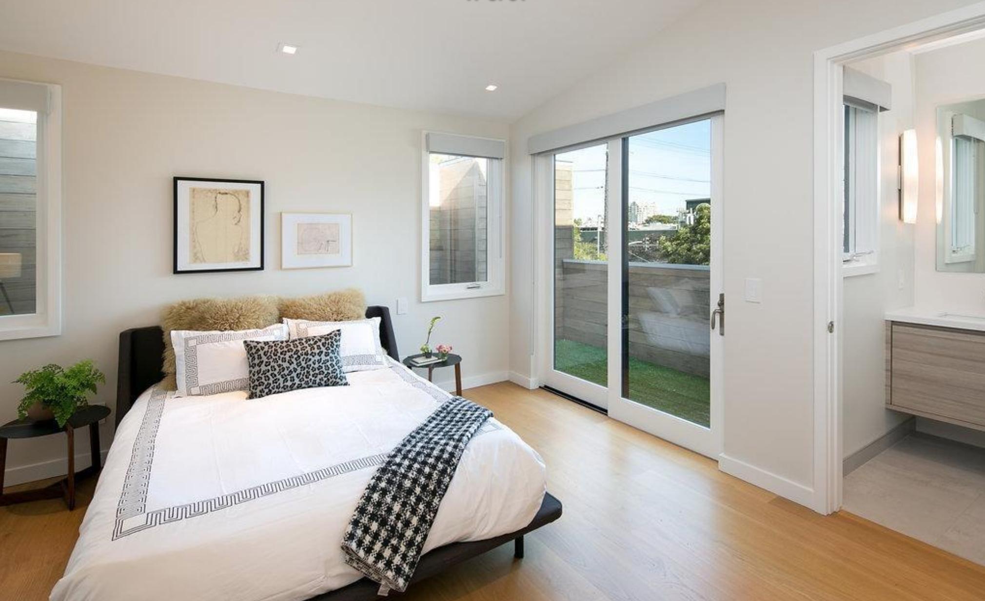 1825 Scott Street - Second Bedroom