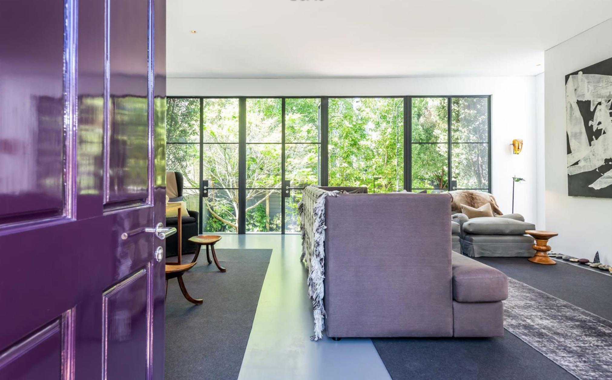 2454 1/2 Bush Street - Living/Dining Room