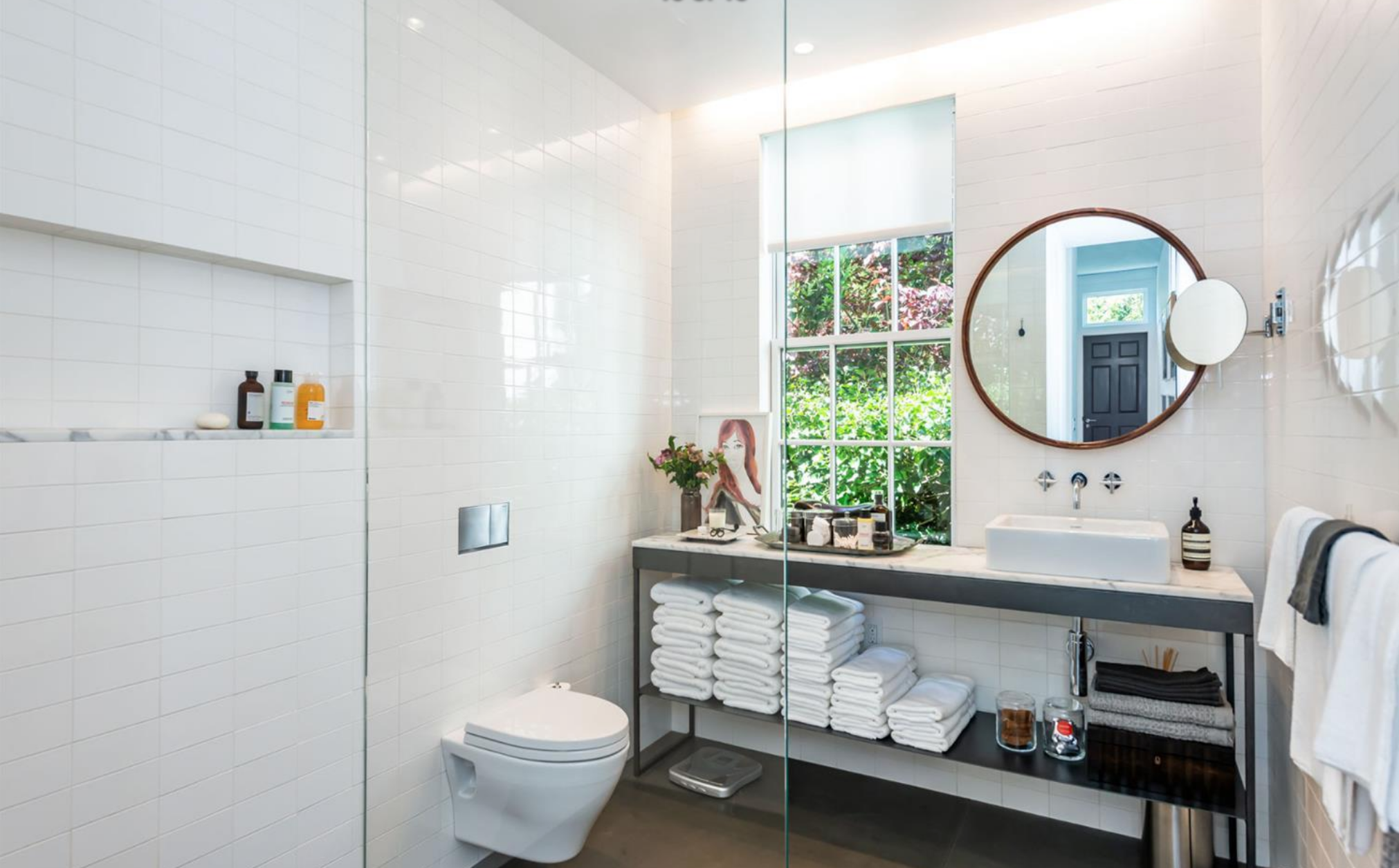 2454 1/2 Bush Street - Master Bathroom