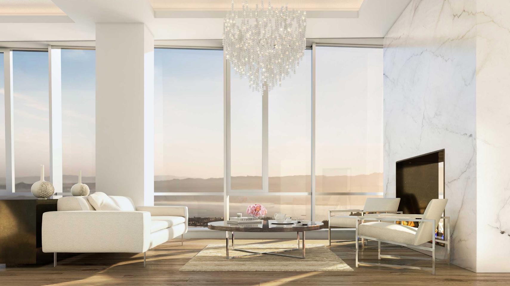 181 Fremont - Living Room