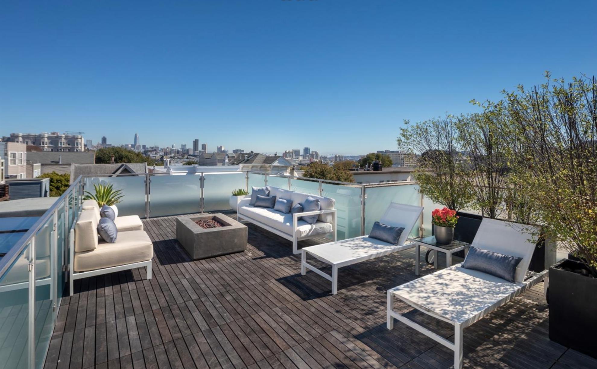 1735 Lyon Street - Rooftop Deck