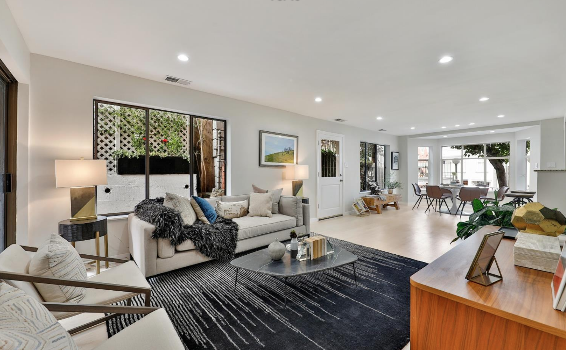2137 Vallejo Street - Living Area