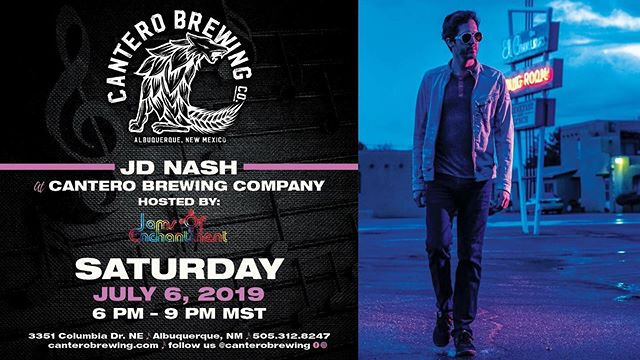 Tonight live at Cantero is the amazing JD Nash! Come and enjoy some good tunes, food and beer. . . . . . #foodporn #albuquerque #landofenchantment #party #newyork #beautiful #newmexicotrue #nmtrue #nature #foodie #music #beer #travel #drinks #santafe #fashion #505 #newmexico #food #photooftheday #art #photography #nm #love