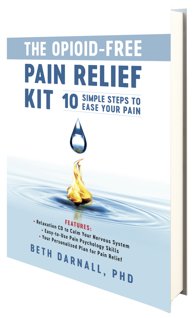 The Opioid Free Pain Relief Kit Book Cover