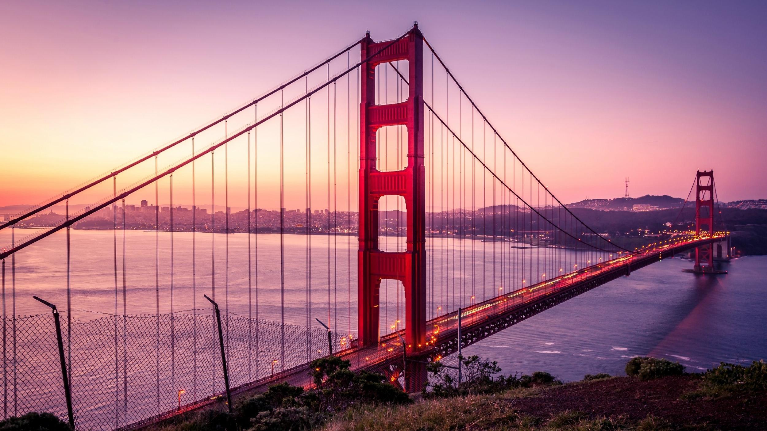 Golden Gate Bridge by Ian Mackey
