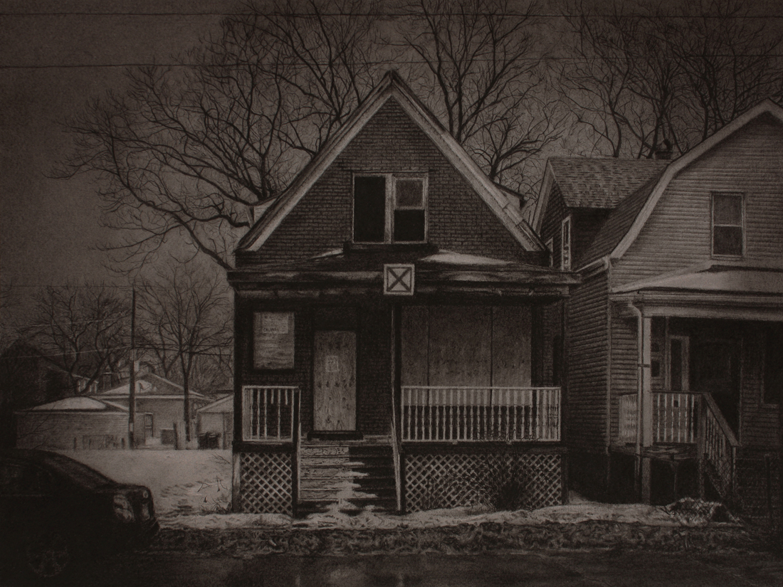 What was Once a Home (South Damen Avenue)