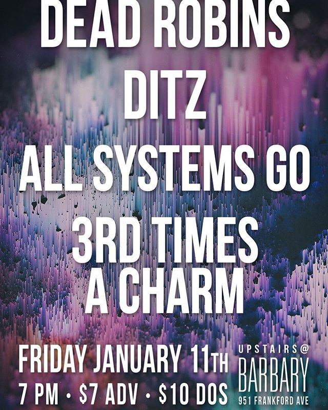 Playing a show this Friday with our friends @allsystemsgonj Gonna be awesome!  #music #show #band #poppunk #punk #punkrock #newjersey #family #friends #phillymusic #philly #southjersey #localmusic #supportlocalmusic #localband #3tac