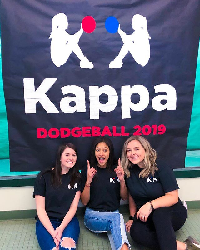 couldn't imagine a better duo to pass the dodgeball torch off too 🔥 s/o to @kennedyabrooks for absolutely killing it ~ good luck tonight 👀