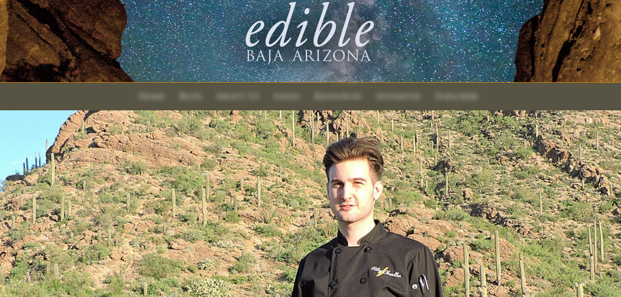 EDIBLE BAJA ARIZONA by JOE WATSON AUGUST, 2017