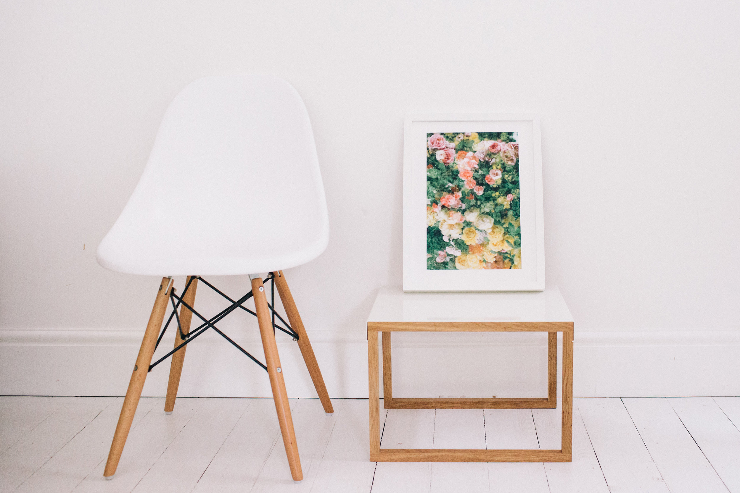 Photography wall art and prints from Dot & Fox. Retreat // a food and lifestyle blog.