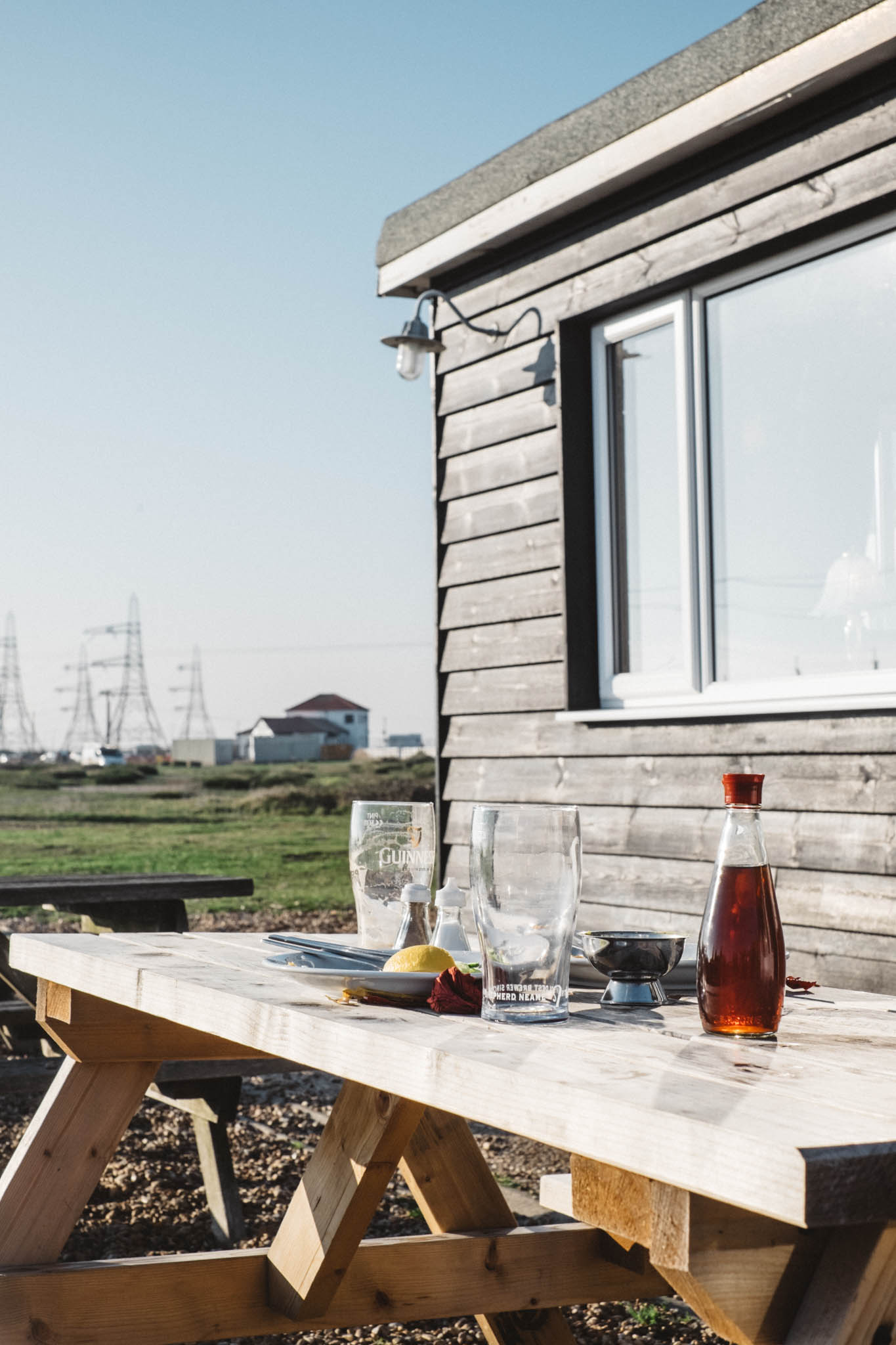 Camber and Dungeness are located on the east coast of England in Kent, a short drive from Sussex. Photography by Sussex photographer Emma Gutteridge