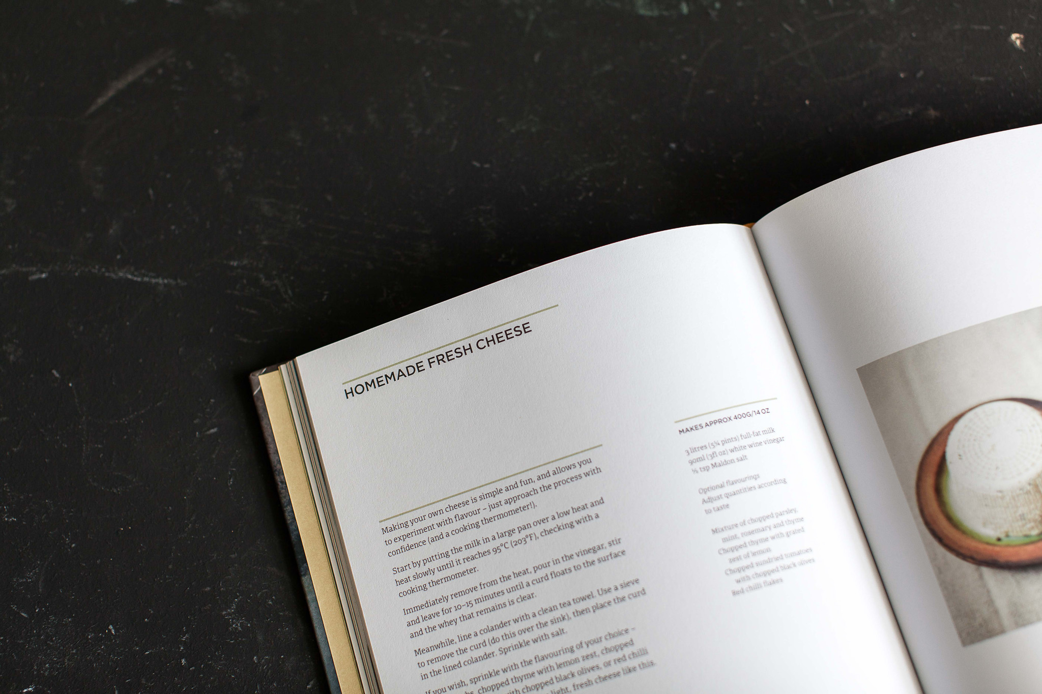 A Year of Cheese // A gorgeous book about seasonal cheese from one of the worlds most famous artisan cheese shops. Retreat // a Sussex food and lifestyle blog by photographer Emma Gutteridge.