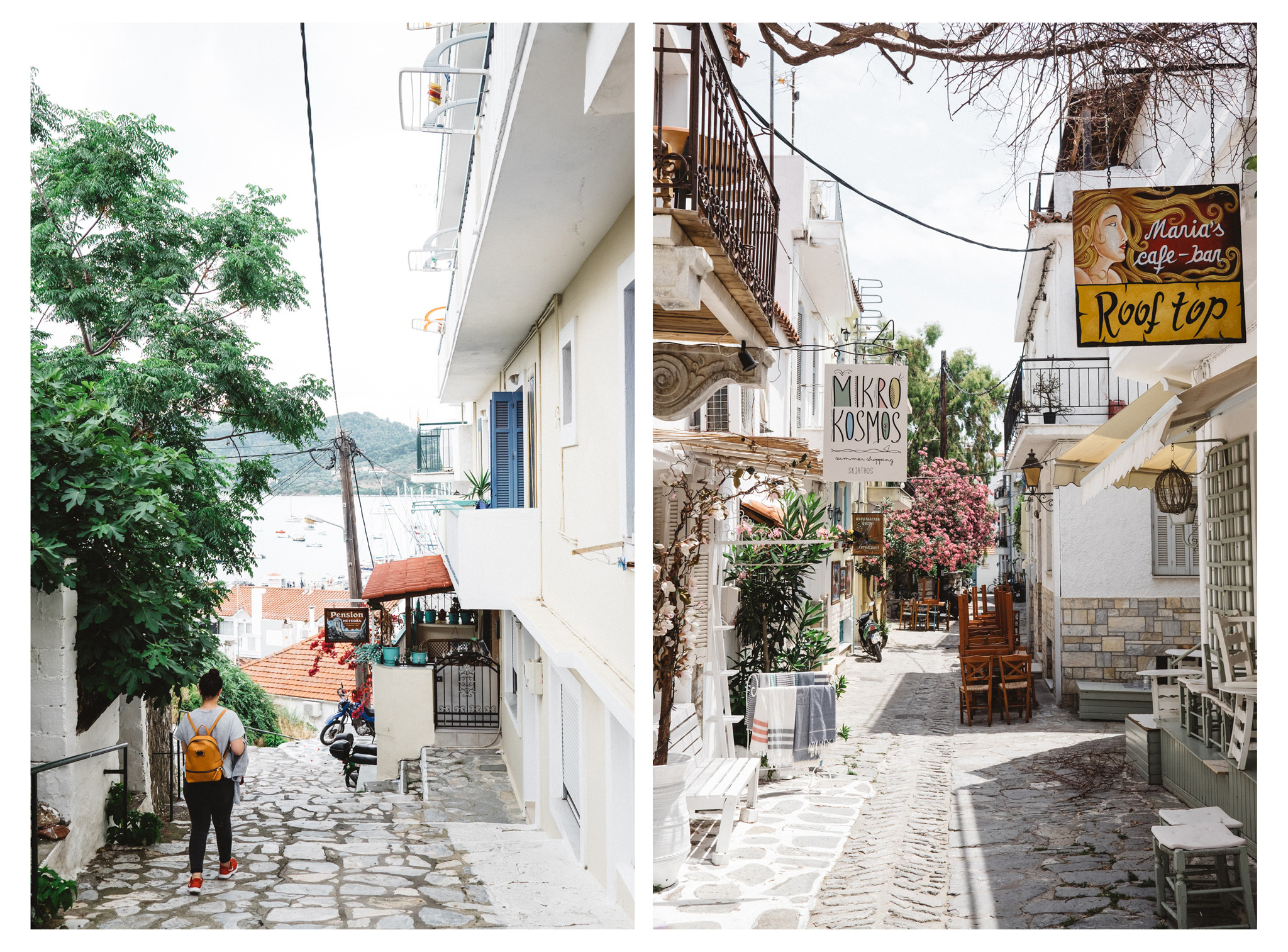 Skiathos is an Sporadic island in Greece. It boasts a wealth of clean and stunning beaches and with mountains to explore as well as beautiful old town it offers so much more than fly and flop. It's also an affordable destination. Retr~eat blog - travel and lifestyle.