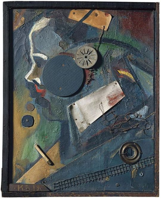 Kurt Schwitters  The Psychiatrist