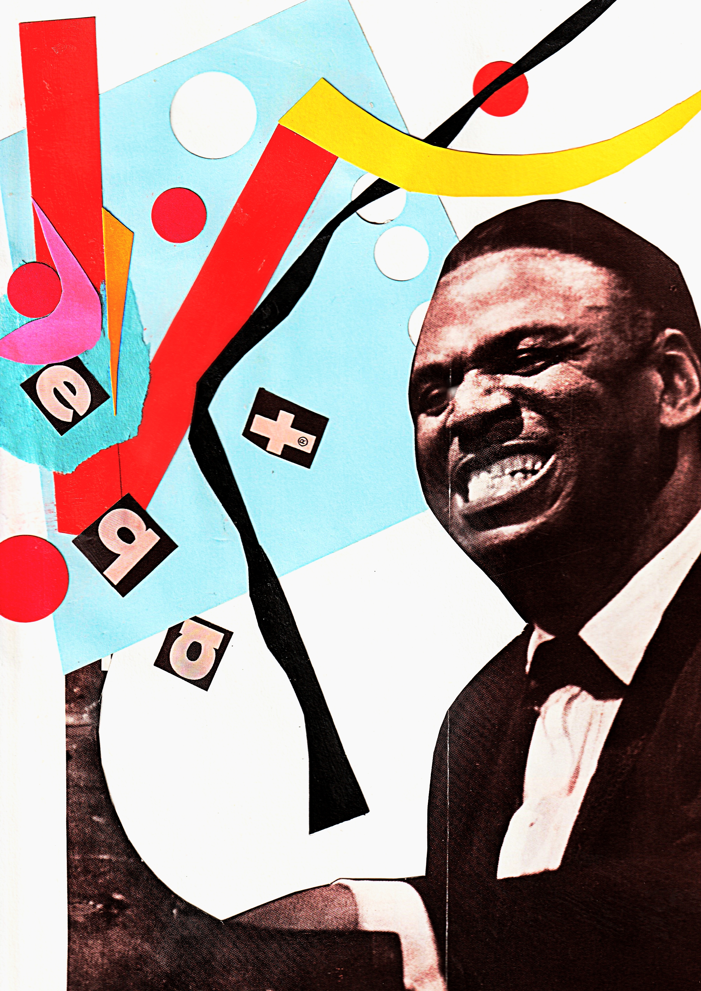 EARL HINES - cut and paste, paper tear