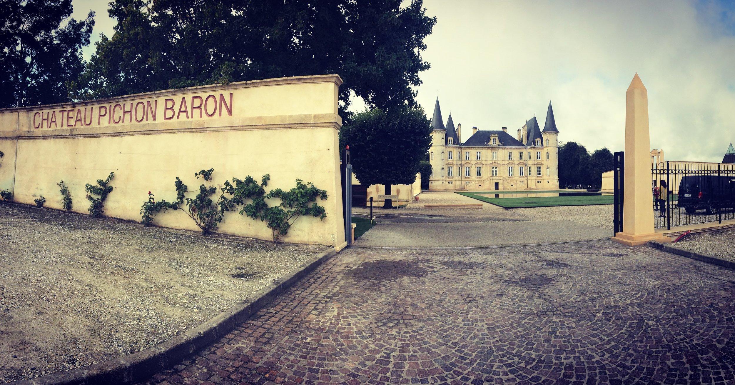 Chateau Pichon Baron in Pauillac, Medoc