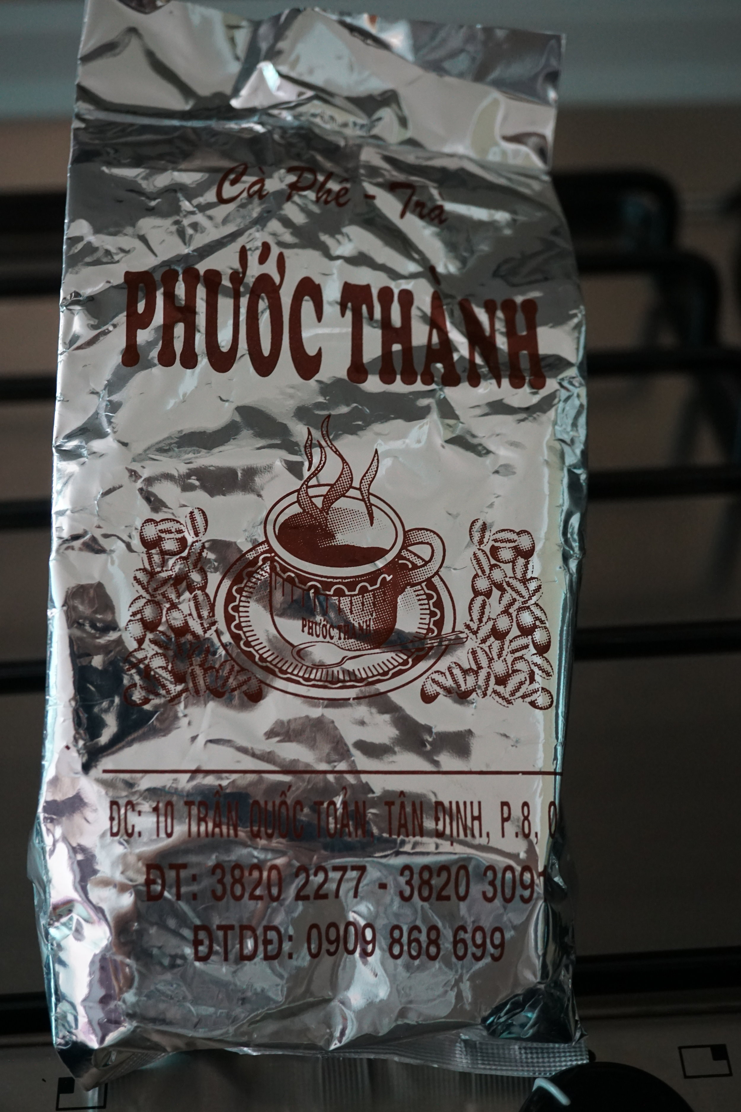 Phuoc Thanh - Vietnamese coffee… oh my gawd… If you have never tried the rich velvetiness of a typical drip Vietnamese coffee, you are missing out on the rich caramel chocolate flavors! Normally served with condensed milk but I like to drink this black. A friend of mine brought this tiny bag of beans from a trip and I savor every bean so much. (If you're visiting Vietnam, please send me some!)