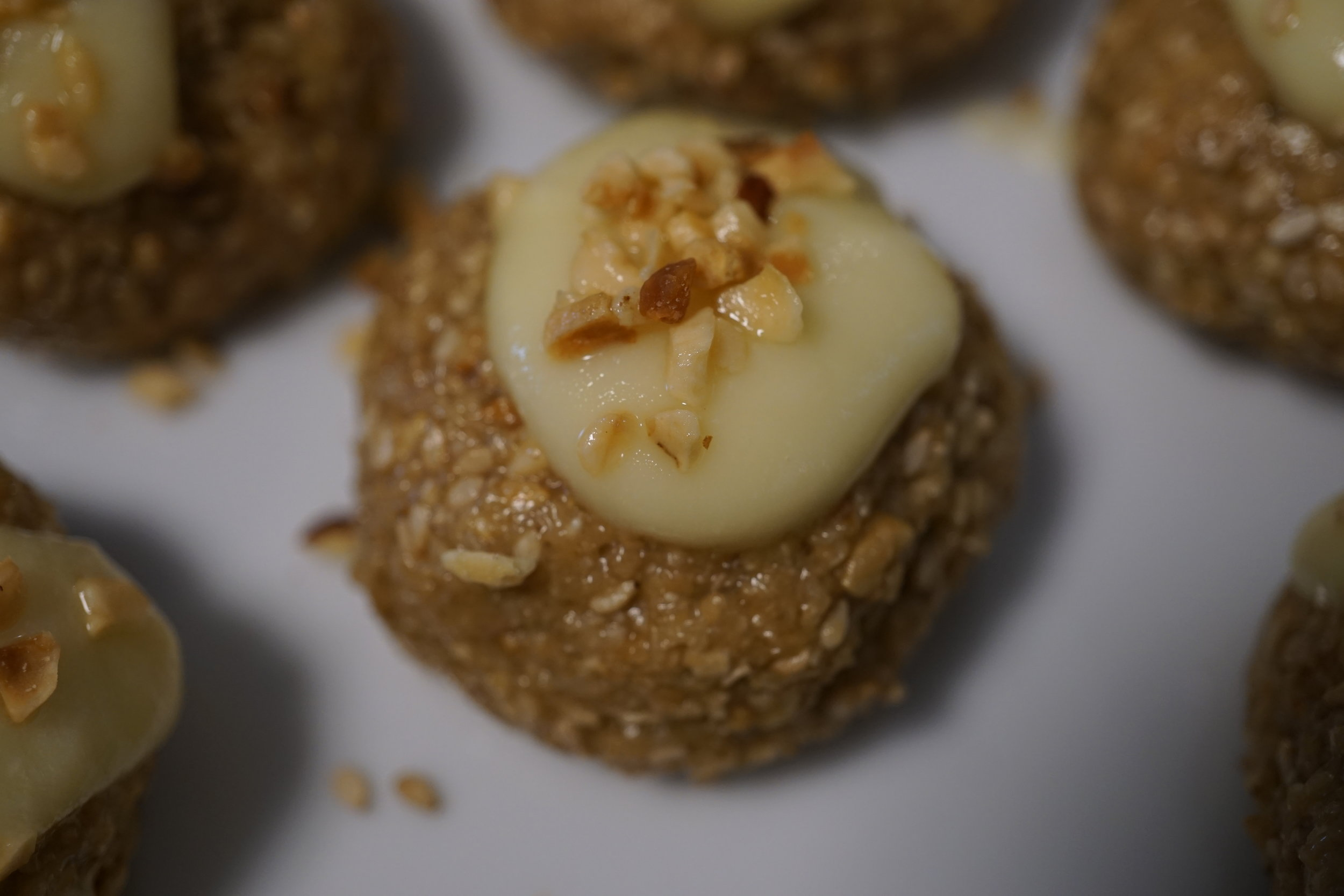 White lemon dröm chokladbollar - the recipe is in my  book!
