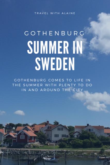 Gothenburg summer