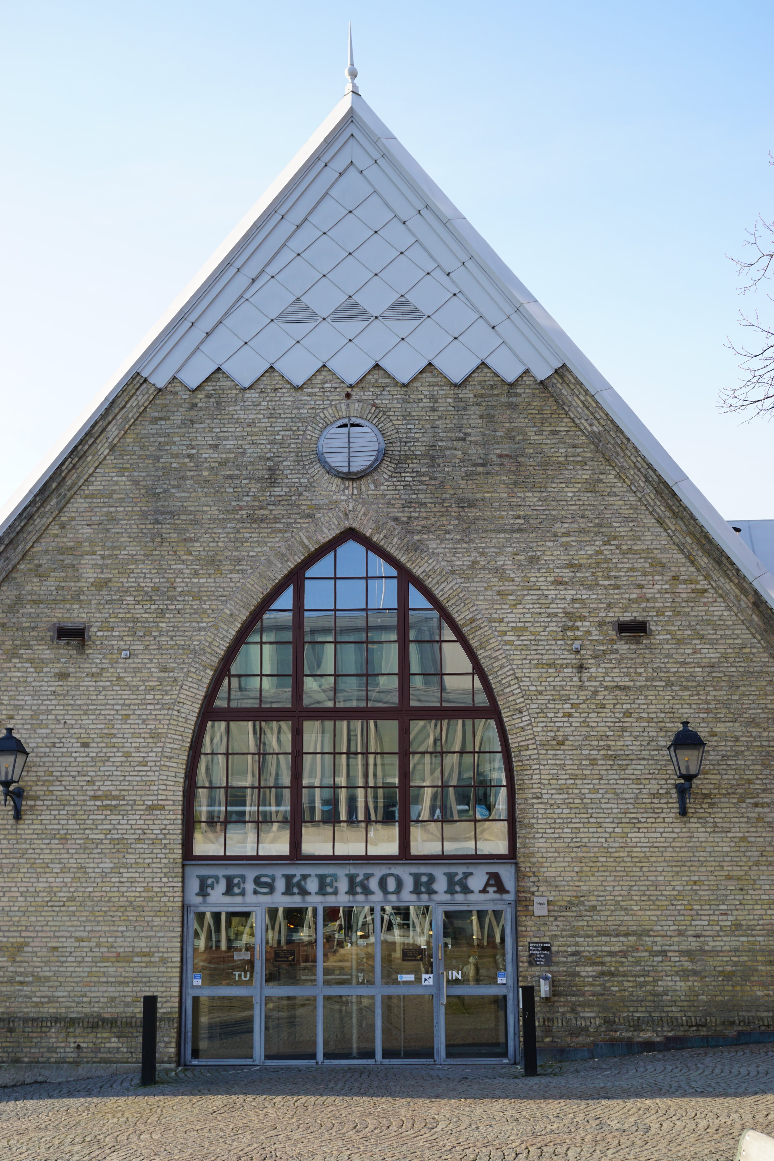 Feskekörka - The fish church - The building was built to resemble a Neo-Gothic church and houses a seafood market with a couple restaurants to enjoy fresh seafood with lovely wine pairings. This building is architecturally stunning from outside and also on the inside. This building is a popular tourist spot in Gothenburg, I went during the winter so it wasn't crowded but I'd imagine that during the summer this place can get busy.I really like Swedish caviar (no not from a tube!) from a small Northern town called Kalix. I was quite excited that feskekörka had the very specific caviar I wanted. I bought a small serving of kalix löjrom from one of the fishmongers and some knäckebröd (baked cracker bread) for snacking in my airbnb. If you haven't had Swedish fish eggs yet, try it!