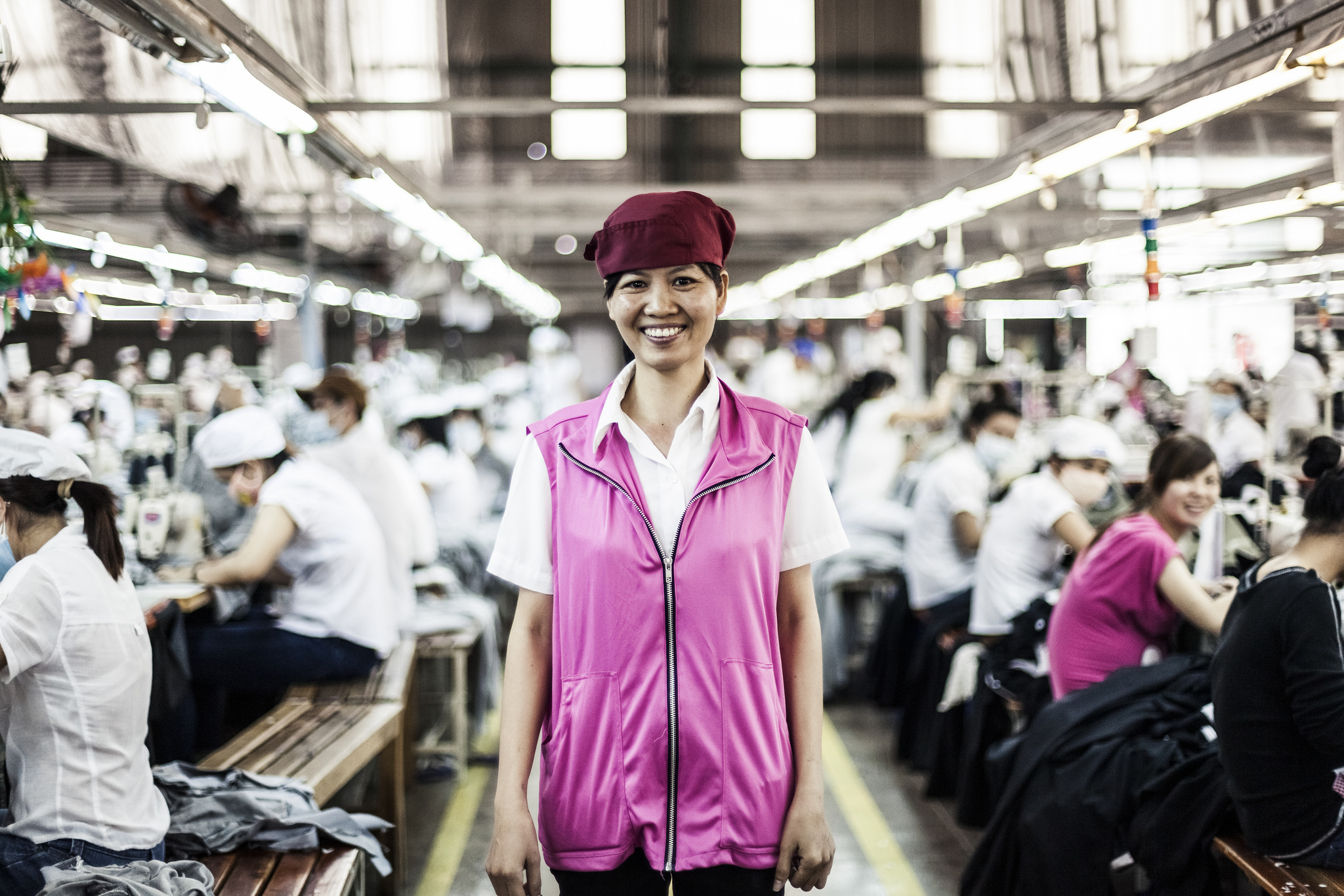 Ando International garment factory