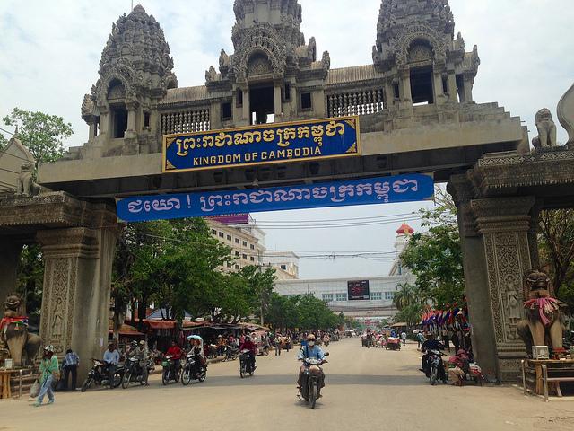 Image:Poipet (Thai border), Cambodia. 2;  James Antrobus ; CC BY 2.0