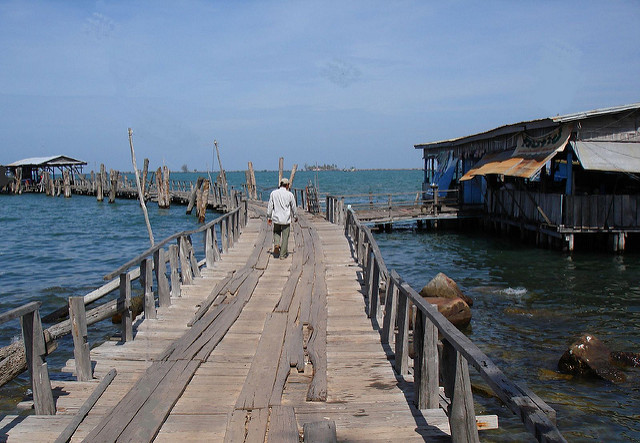 Image: Fishing Village Dock Sihanoukville Cambodia;  Sally , CC BY-NC-SA 2.0