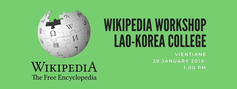 Wikipedia Workshop Lao-Korean College.png