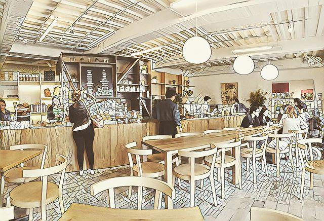 Disfruta de un buen #cafe y una #torta de #zanahoria en este lugar que es sencillo, cálido y cool a la vez : Masa en la calle 81 con 9. Buen plan para este fín de semana festivo en #bogota #somosmasa #panaderia #cafe #tardesdesol #diseñointerior #arquitectura #interionica