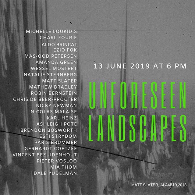 Very excited and proud to be amongst some amazing SA photographers in this PH Centre group show exploring landscape and our relationship to nature. Please pop by if you can! . . #phcentre #photographyexhibition #urbanlandscape #exhibiting #groupshow #artincapetown #capetownart #photographycapetown