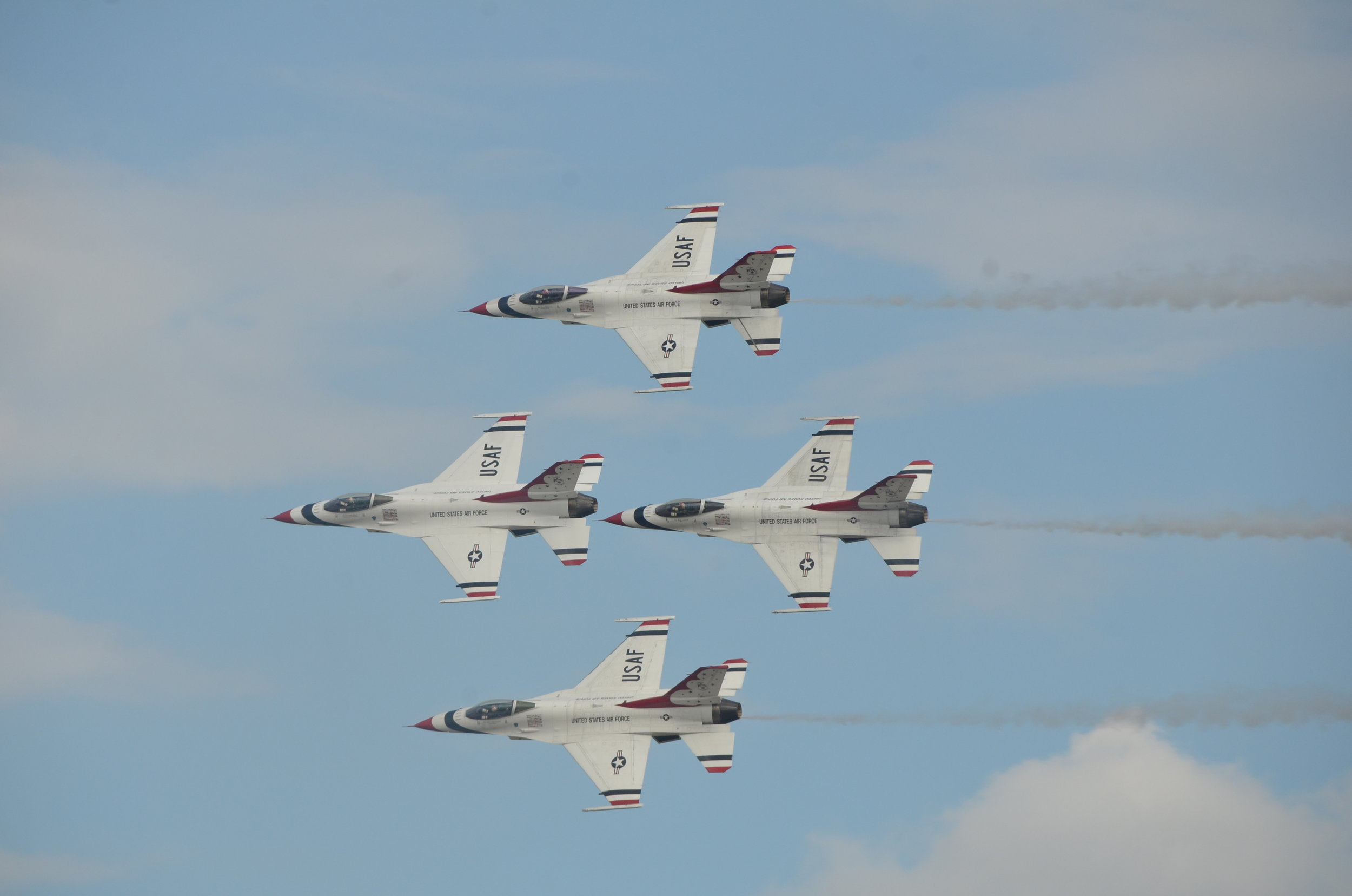 USAF Thunderbirds at Andrews AFB Sep 16 2017