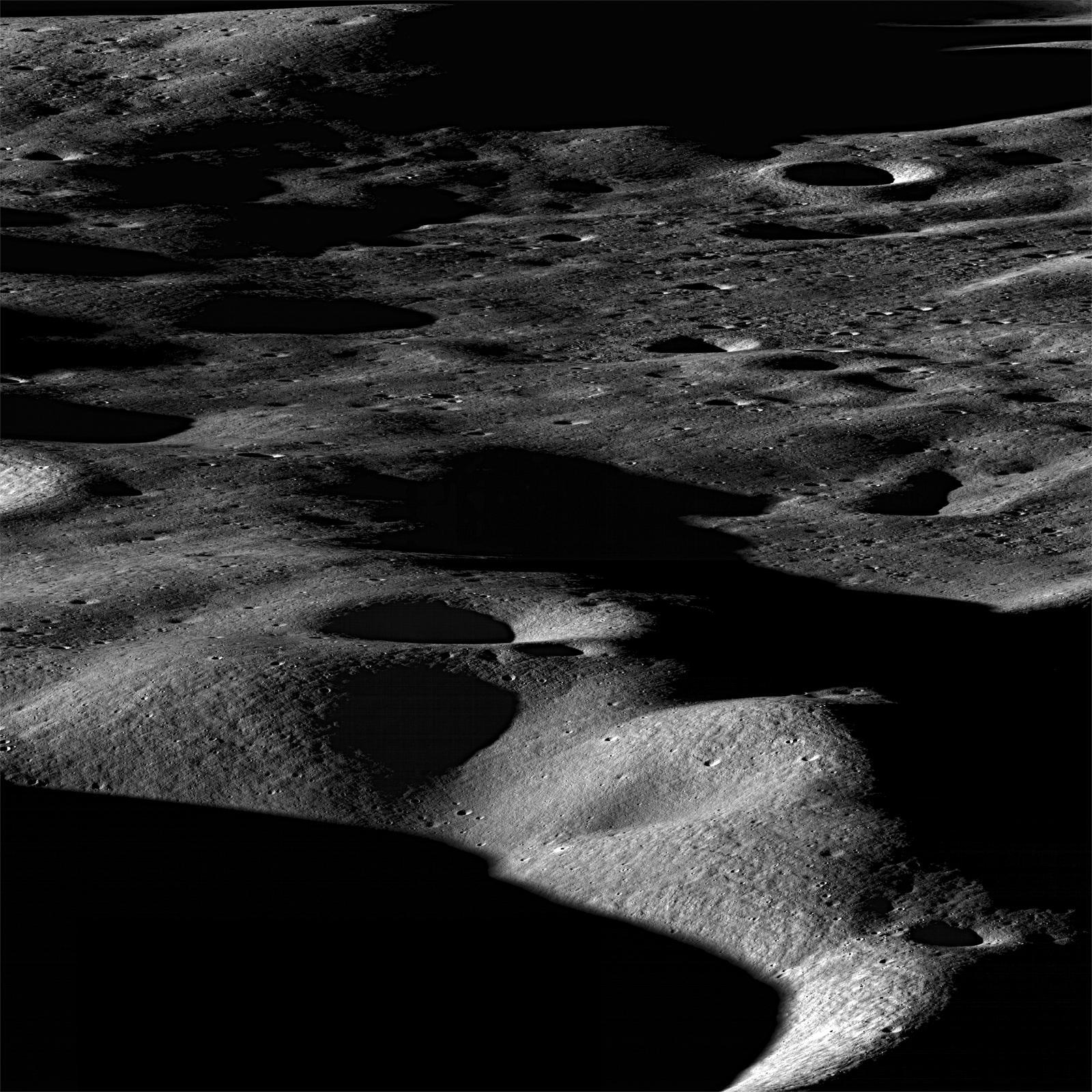 Mountains of the Moon. Image credit: NASA/GSFC/Arizona State University.
