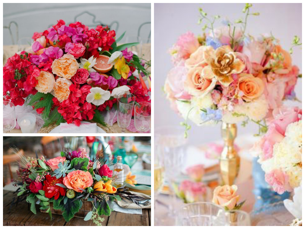 from left to right: image via   Inspired by This  , image via   Carter and Cook Event Co  , image via   Elizabeth Anne Designs