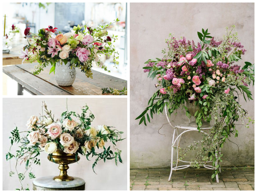 from left to right: image via   Blog West Elm  , image via   Sarah Winward  , image via   Green Wedding Shoes