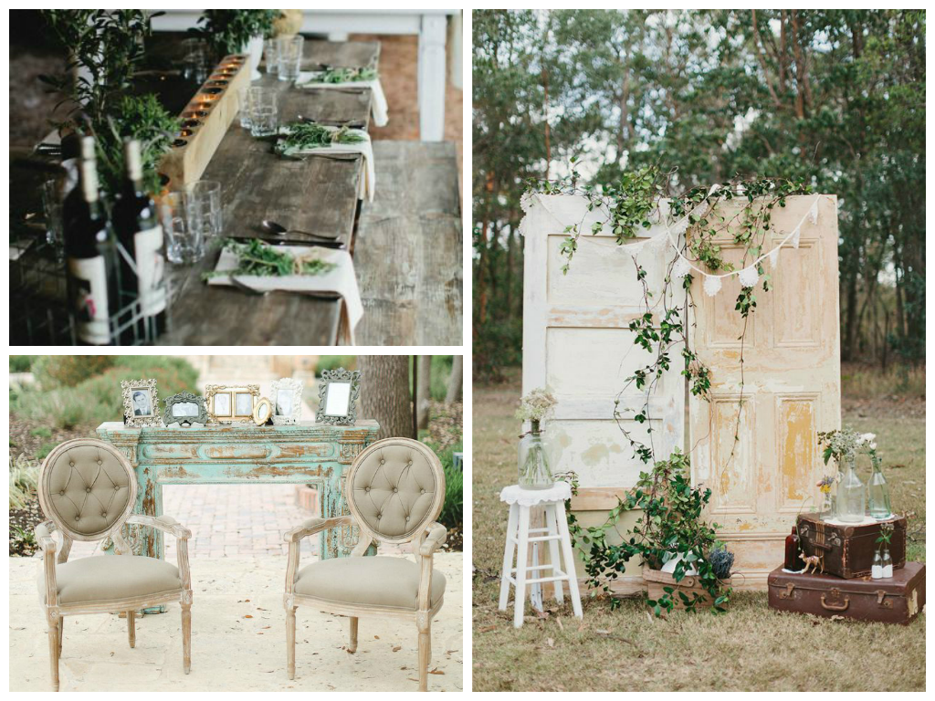 from left to right: image via   Style Me Pretty  , image via   Style Me Pretty  , image via   Burnetts Boards