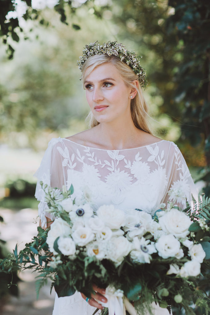 image by  LV Imagery , bouquet by  Hunt and Gather Floral / Coriander Girl