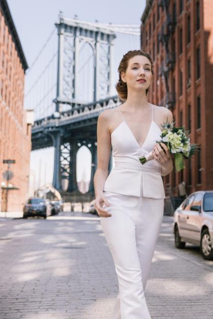 Image via  Style Me Pretty  | Dress by Lakum - Allison Collection
