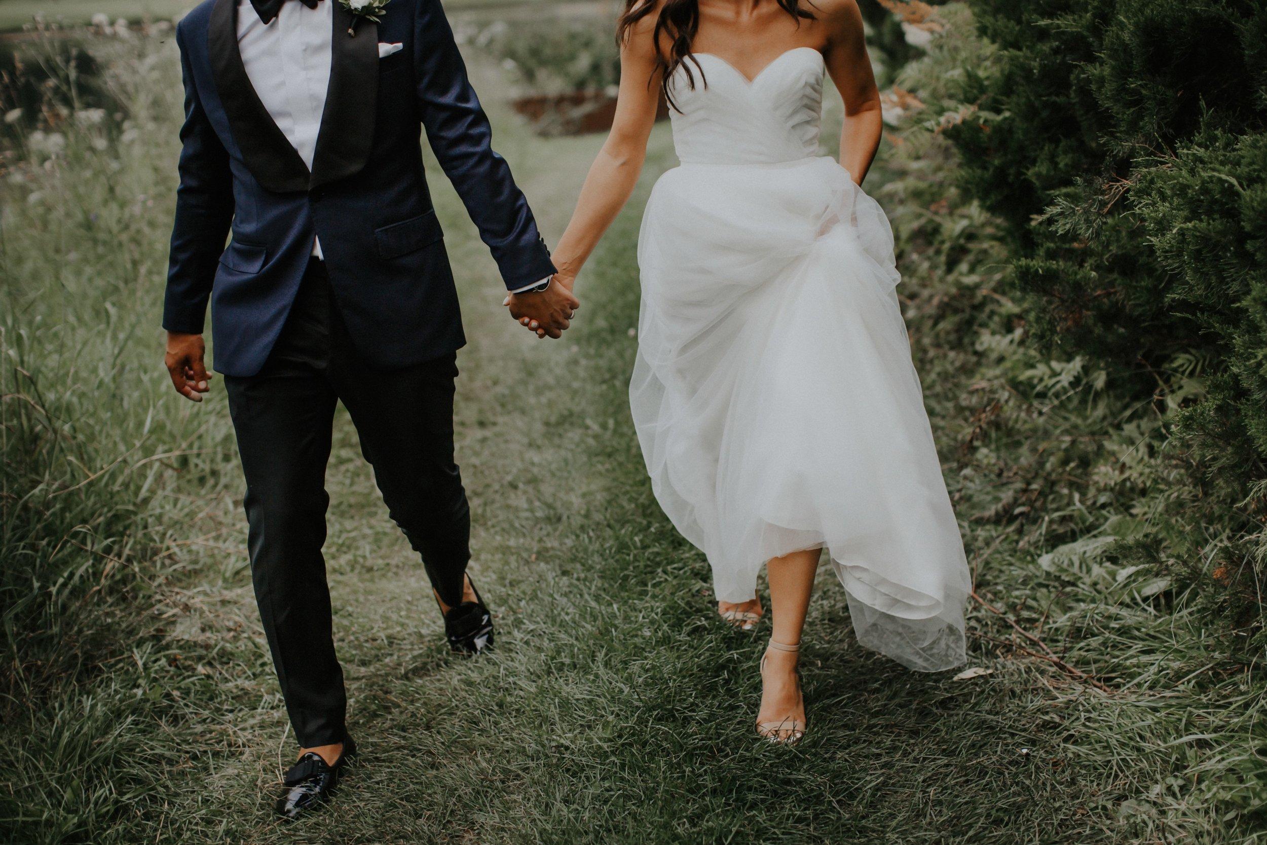 outdoor toronto wedding