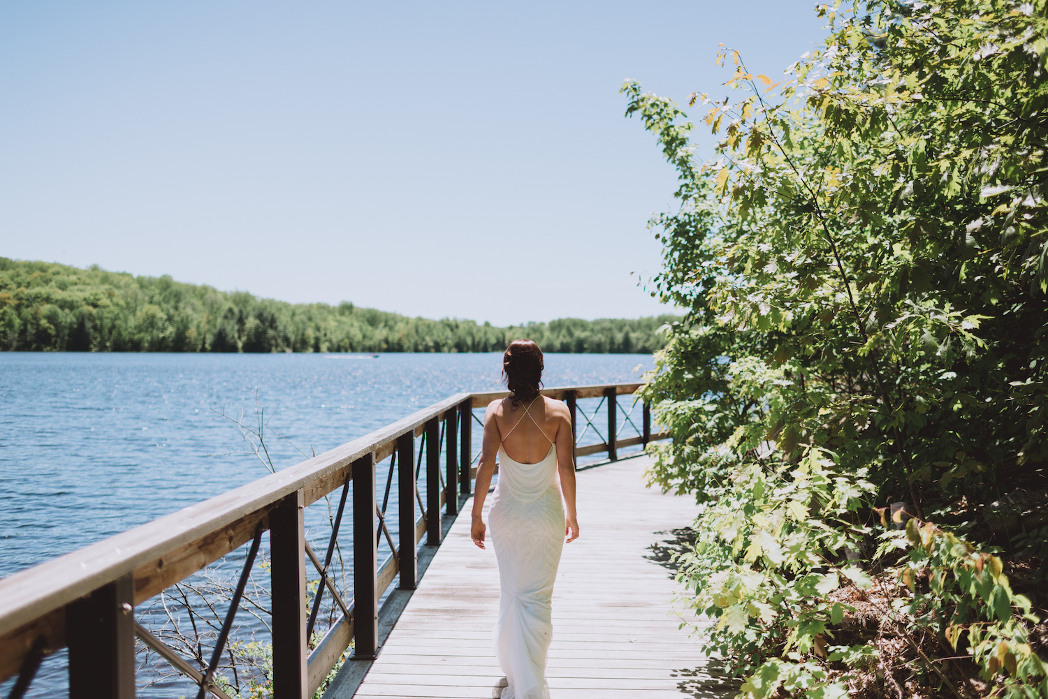 camp wedding ontario